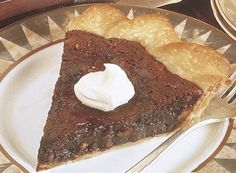 Hershey's Kitchens | Chocolate Harvest Nut Pie