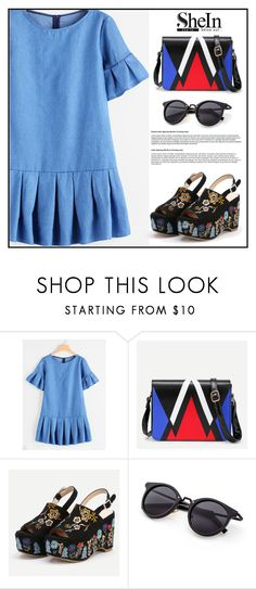 """""""SHEIN 1"""" by merisa-imsirovic ❤ liked on Polyvore featuring vintage"""