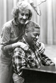 """Cheraw native Dizzy Gillespie and Marian McPartland. Much of America's blues and jazz influences are deeply rooted in the rhythms and melodies of the rural South. One artist who has greatly contributed to these genres' continued popularity is South Carolina's own John Birks """"Dizzy"""" Gillespie. Together with Charlie Parker, he was a major figure in the development of bebop and modern jazz."""