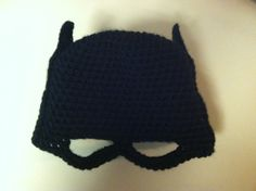 Free Crochet Pattern- Batman Mask - Crochet Granny