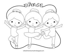 If your little girl is anything like my little girl, she LOVES ballet and wants to be a ballerina when she grows up! I created this coloring page for my little ballet dancer. Feel free to share it with yours too! Abc Dance, Dance Class, Dance Studio, First Dance, Ballerina Coloring Pages, Dance Coloring Pages, Ballet Crafts, Dance Program, My Little Girl