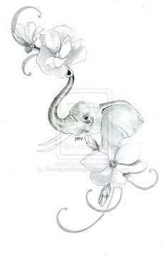 46 Ideas Tattoo Elephant Sketch For 2019 Mandala Elephant Tattoo, Baby Elephant Tattoo, Elephant Tattoo Meaning, Elephant Tattoo Design, Small Elephant Tattoos, Grey Ink Tattoos, Baby Tattoos, Cute Tattoos, Flower Tattoos