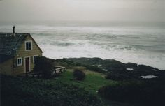 our cottage by the sea in scotland when we're old maids :D