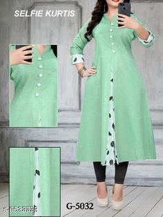 Checkout this latest Kurtis Product Name: *Women's Printed Khadi Cotton Kurti* Fabric: Khadi Cotton Sleeve Length: Three-Quarter Sleeves Pattern: Printed Combo of: Single Sizes: M, L, XL, XXL Country of Origin: India Easy Returns Available In Case Of Any Issue   Catalog Rating: ★4.1 (498)  Catalog Name: Kashvi Pretty Kurtis CatalogID_1680248 C74-SC1001 Code: 533-9532773-018