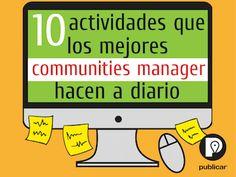 Descubra cómo es la rutina diaria de un community manager exitoso, así entenderá cómo le puede aportar a su estrategia de redes sociales.