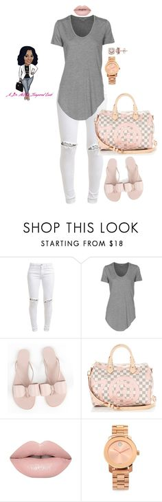 """""""Untitled #3310"""" by stylebydnicole ❤ liked on Polyvore featuring FiveUnits, Helmut Lang, Aminah Abdul Jillil, Louis Vuitton, Movado and Simply Vera"""