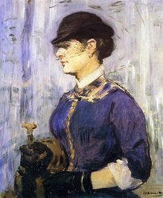 Young woman in a round hat Eduard Manet art for sale at Toperfect gallery. Buy the Young woman in a round hat Eduard Manet oil painting in Factory Price. Renoir, Edouard Manet Paintings, Vancouver Art Gallery, Peter Paul Rubens, Oil Painting Reproductions, Michelangelo, French Art, Canvas Art Prints, Female Art
