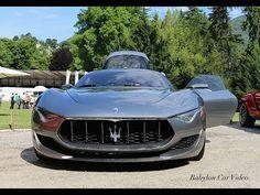 Maserati Alfieri Concept - Start & Sound
