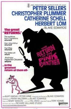 The Return of the Pink Panther posters for sale online. Buy The Return of the Pink Panther movie posters from Movie Poster Shop. We're your movie poster source for new releases and vintage movie posters. Pink Panther Diamond, Rosa Panther, Blake Edwards, 1975, Great Films, Good Movies, Detective, Panthères Roses, Cinema Posters