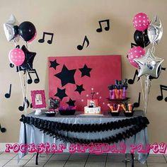 Festa tema musica ♥