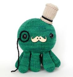 http://www.ravelry.com/patterns/library/dandy-sir-cephalopod   Octopus knitting pattern on ravelry!