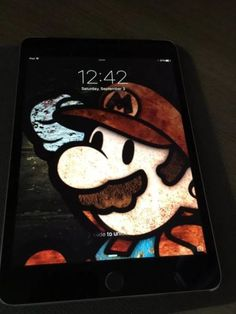 Apple iPad mini 4 128GB Wi-Fi  Cellular (Unlocked) 7.9in - Space Gray...