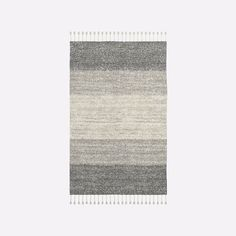 Pixel Shag Rug - Platinum | west elm