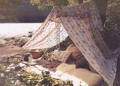Lakeside lounging