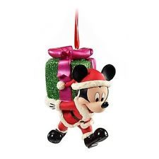 Disney Christmas Tree Gift SANTA CLAUS MICKEY MOUSE ORNAMENT Cute