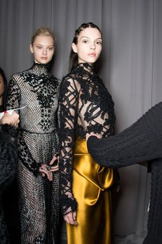 Marchesa fall 2014 rtw backstage