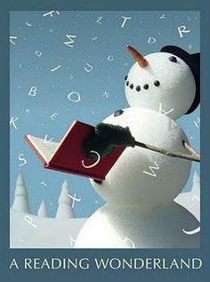 """""""A Reading Wonderland"""" graphic for Teen Winter Reading Club At The Mahwah Public Library"""