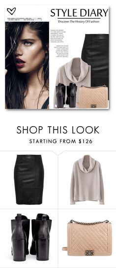 """Day of Woman, 8 March"" by toochanel4you ❤ liked on Polyvore featuring Cheap Monday and Chanel"