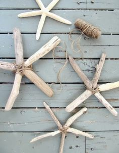 How to make a Driftwood Star