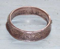 Rings Made Out Of Coins | DIY – How to Make a Coin Ring!