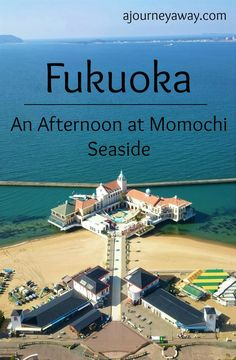 An afternoon at Momochi seaside in Fukuoka, Japan