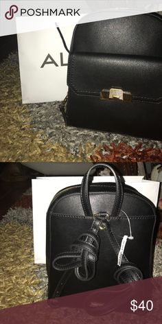 Aldo black bag At los price perfect for daily use Black bag perfect for eventos young woman who enjoys looking good and to have fun ver y practical Aldo Bags Backpacks