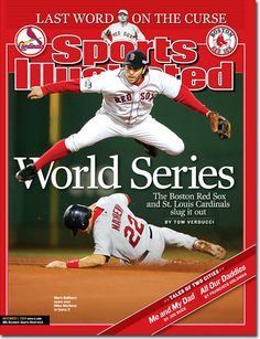 On the Cover: Mark Bellhorn, Baseball, Boston Red Sox  Photographed by: Al Tielemans / SI