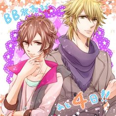 Brothers Conflict - Fuuto and Kaname