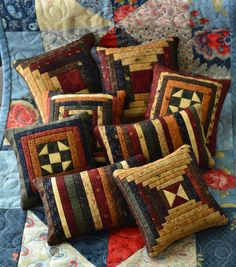 miniature quilt blocks