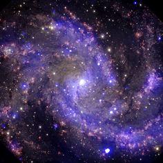 Fireworksgalaxy 22 Millionn Light-years away- Pic: NASA