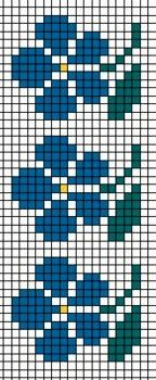 @nika Cross Stitch Bookmarks, Mini Cross Stitch, Cross Stitch Borders, Counted Cross Stitch Patterns, Cross Stitch Designs, Cross Stitching, Crochet Chart, Filet Crochet, Crochet Motif