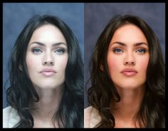 Models Before and After Retouching | 20 Female Celebrities: Before and After Photoshop