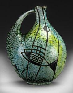 A Mid-Century Danish Pottery Jug : Lot 983