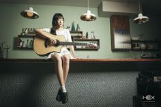 Fingerstyle guitarist 'Na Rin Kim' with Hexguitars. Check out her interview