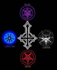 4 Princes Of Hell Photo Satanic Tattoos, Satanic Art, Satan Drawing, Necronomicon Lovecraft, Laveyan Satanism, Supernatural Symbols, Voodoo Tattoo, Beautiful Dark Art, Dark Art Illustrations