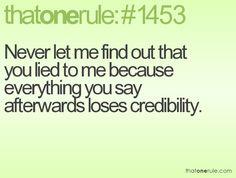 #that1rule #thatonerule