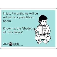 Shades of Grey baby boom???