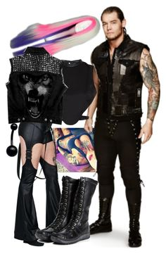 """""""Tagging With Baron!!"""" by imblissedoff ❤ liked on Polyvore featuring Cyberdog and Morgan"""