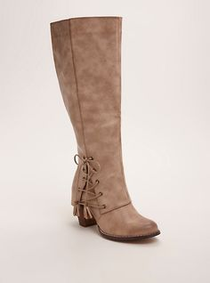 Shop wide shoes for women at Torrid! Find cute and comfortable wide with shoes in different styles including wide width sandals, heels, boots, and more! Tan Knee High Boots, Knee High Heels, High Heel Boots, Heeled Boots, Calf Boots, Wide Shoes, Bootie Sandals, Boating Outfit, Sexy Boots