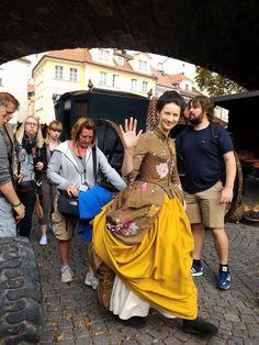 "loverjamie2: "" Outlander in Prague courtesy of Outlander Cizinka Czech Republic 1 """