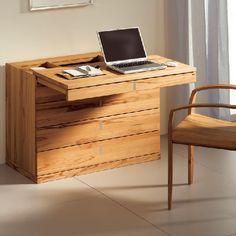 sekret r ladacios aus wildeiche mit stauraum schreibtisch pinterest sekret rin stauraum. Black Bedroom Furniture Sets. Home Design Ideas