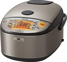 Shop a great selection of Zojirushi Induction Heating System Rice Cooker Warmer, 1 L, Stainless Dark Gray. Find new offer and Similar products for Zojirushi Induction Heating System Rice Cooker Warmer, 1 L, Stainless Dark Gray. Small Kitchen Appliances, Cool Kitchens, Kitchen Faucets, Kitchen Small, Zojirushi Rice Cooker, Best Rice Cooker, Slow Cooker, Induction Heating, Thing 1
