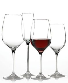 Marchesa by Lenox Stemware, Rose Collection, Etched roses sweetly adorn the base of each flute