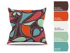Throw Pillows, Collection, Bed, Colors, Toss Pillows, Cushions, Stream Bed, Decorative Pillows, Beds
