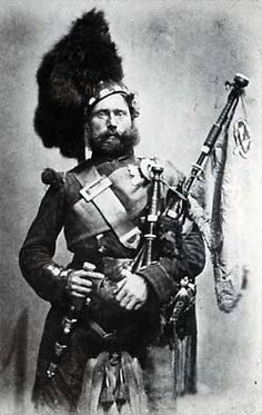 Piper David Beard of the 42nd Highlanders, The Black Watch