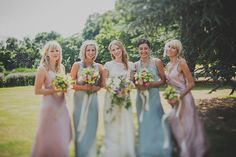 Fazackarley-Wedding-Photography-Kate-and-Chris Wedding Pastel Bridesmaids Ghost Bridesmaid Dress, Pastel Bridesmaid Dresses, Wedding Dresses, Bridesmaid Inspiration, Wedding Inspiration, Bridesmaid Ideas, Wedding Ideas, Wedding 2015, Summer Wedding