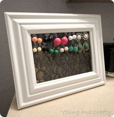 Stud earring holder 7