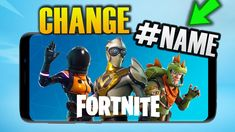 HOW TO CHANGE YOUR NAME ON FORTNITE Changing Your Name, You Changed, Comic Books, Names, Tech, Comics, Cover, Technology, Comic Book