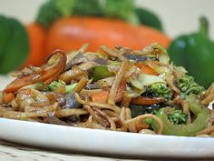 Noodles with Stir Fried Vegetables: Baby and Kiddie Food Recipes