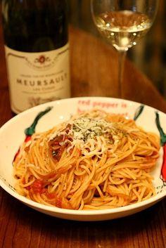昨日の晩ご飯。たくさん作ったので今日のランチとしてお弁当に持って行きました♪ - 52件のもぐもぐ - アマトリチャーナ by keisukemakino